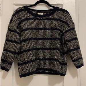 Never worn Anthropologie sparkle sweater